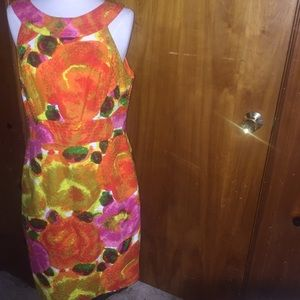 Muse floral sleeveless dress size 10